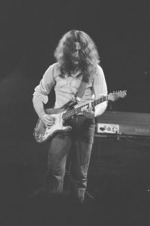 Rory Gallagher c1977 Manchester Free Trade Hall by Steve Smith (4)