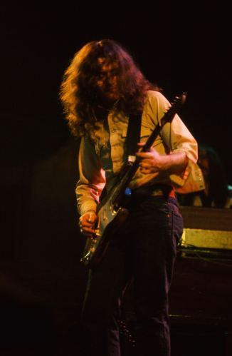 Rory Gallagher c1977 Manchester Free Trade Hall by Steve Smith (5)