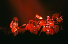 Rory Gallagher c1979 Manchester 1 by Steve Smith