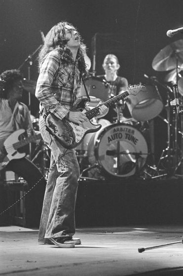 Rory Gallagher, c1979 Manchester by Steve Smith