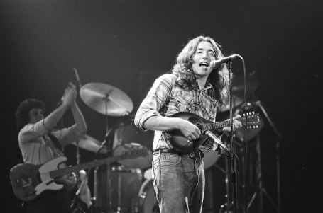 Rory Gallagher, Manchester c1979 by Steve Smith