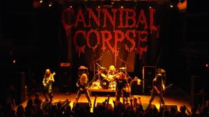 Cannibal Corpse, the world's top-selling Death Metal act.