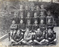 1926 05 30 Farranferris class, Aloys Fleischmann 2nd row from front, right