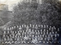 1926 Farranferris School AF 2nd row to right of teacher