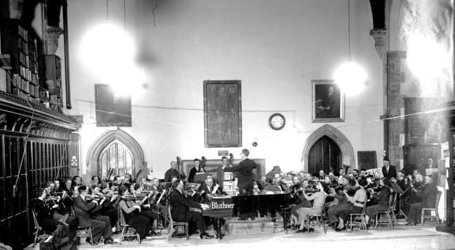 1938 Cork Symphony Orchestra Aula Maxima UCC