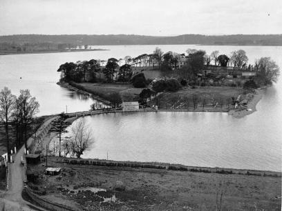 1940-1947 The Fleischmann home, Oileán Ruadh 1940-1947