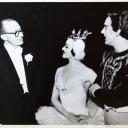 1956 Fleischmann, guest ballet dancers Domini Callaghan, Peter Darrell