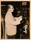 1957 12 07 rehearsing Cork Symphony Orchestra Aula Max UCC Exam