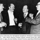 1981 Fleischmann with composers Bodley and Victory in the USA