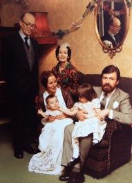 1984 Fleischmann with grandson Max Fleischmann