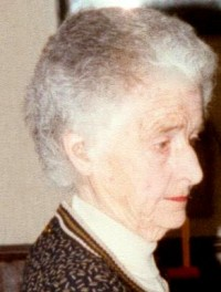 1990 08, last photo of Anne Fleischmann before her death on Oct 7 1990