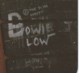 Bowie Graffiti Blarney Street