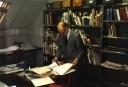 Oct 1990 Fleischmann working on his Sources