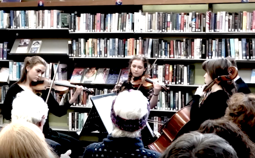 Video: Discorde Quartet in Cork City Library