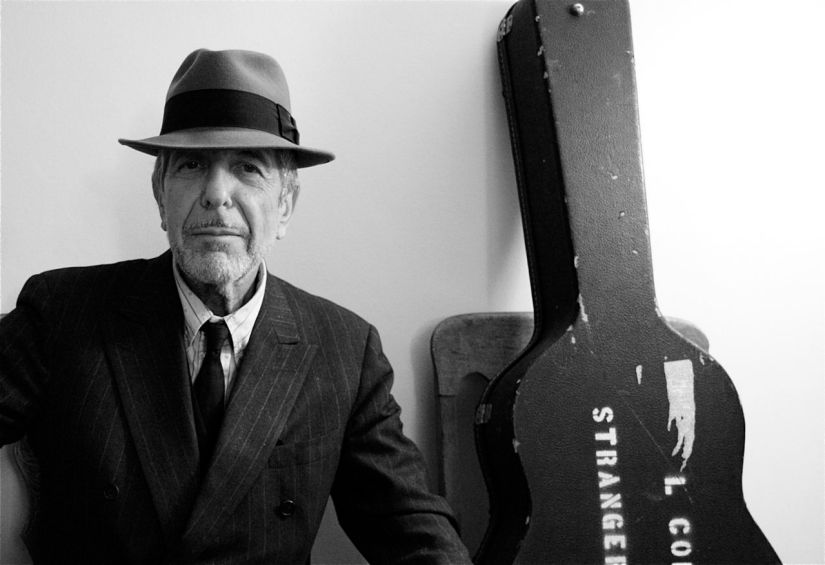 Up Close with Leonard Cohen