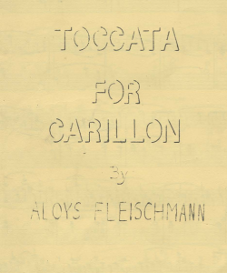 Toccata for Carillon Cover Detail