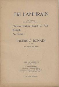 Tri hAmhrain Cover